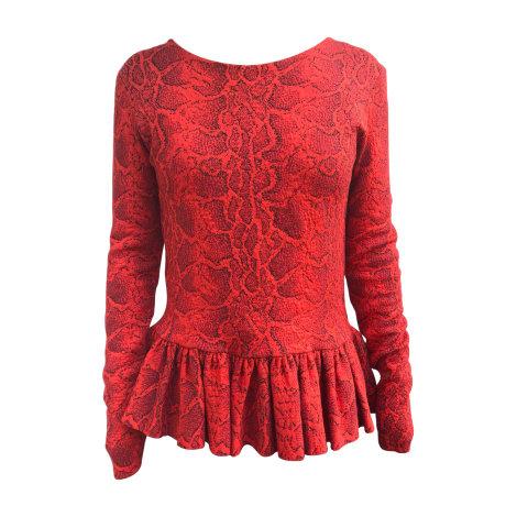 Top, tee-shirt CHLOÉ Rouge, bordeaux