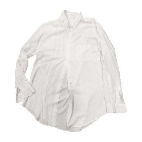 Chemise YOHJI YAMAMOTO Blanc, blanc cassé, écru