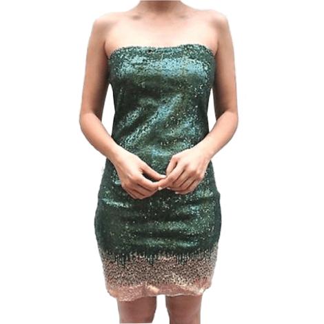 Robe bustier DIESEL Vert