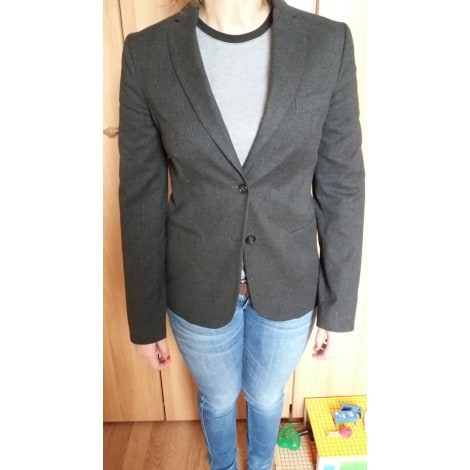 Blazer, veste tailleur BENETTON Gris, anthracite