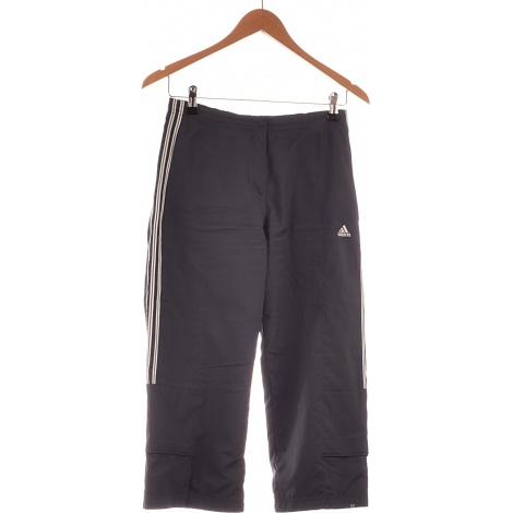 Pantalone a pinocchietto, pantalone alla pescatora ADIDAS Blu, blu navy, turchese