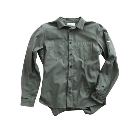 Shirt STONE ISLAND Green