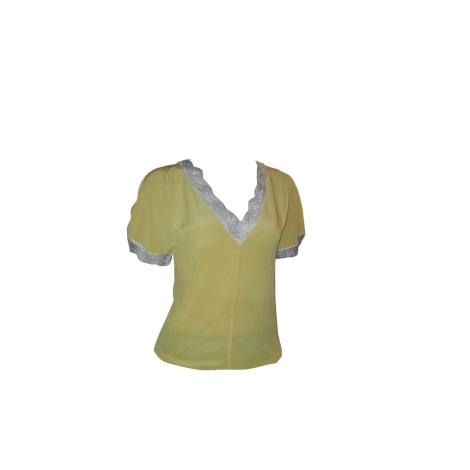 Top, tee-shirt PINKO Jaune