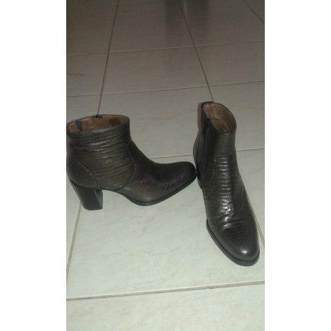 Bottines & low boots à talons MURATTI Marron
