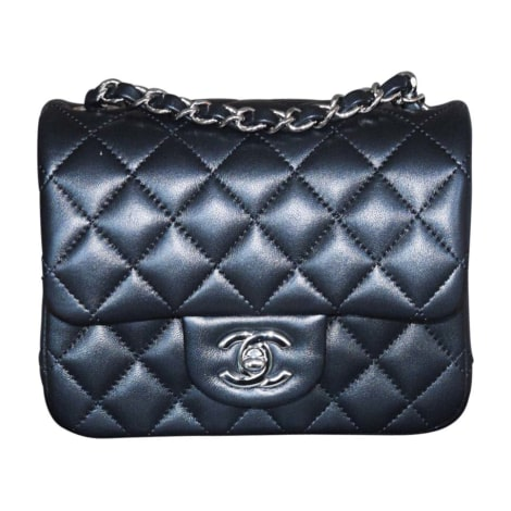 Borsetta in pelle CHANEL Timeless Nero