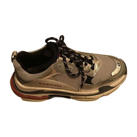 Sneakers BALENCIAGA Triple S Silver