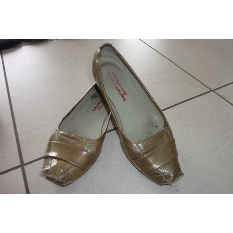 Ballet Flats STÉPHANE GONTARD Golden, bronze, copper