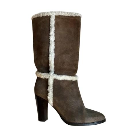 High Heel Boots GERARD DAREL Beige, camel