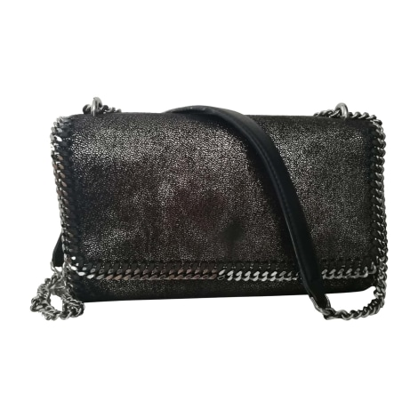 Leather Shoulder Bag STELLA MCCARTNEY Falabella Silver