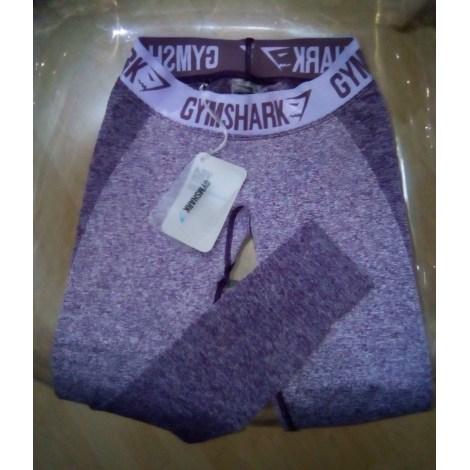 Pantalon de fitness GYMSHARK Violet, mauve, lavande