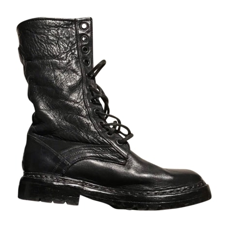 Bottines & low boots plates BURBERRY Noir