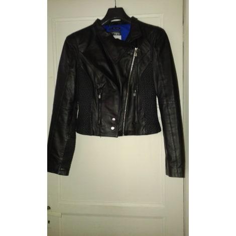 newest 76be2 dd73e Leather Zipped Jacket