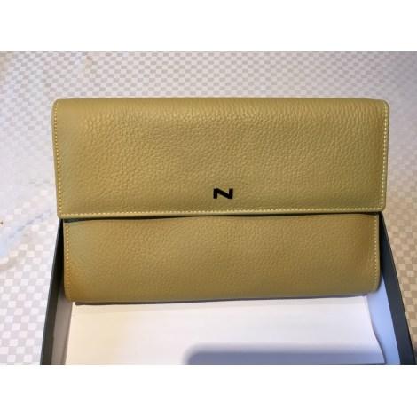 7da35a8b1ef Portefeuille NATHAN-BAUME jaune - 8380532