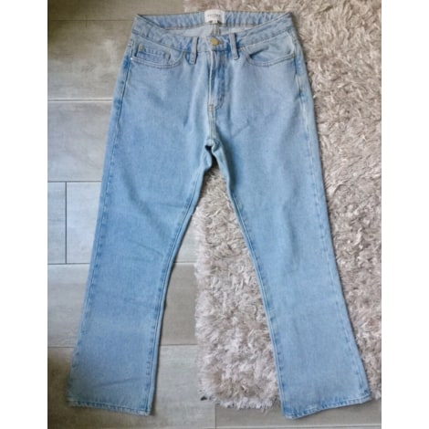 Jeans évasé, boot-cut SÉZANE Bleu clair