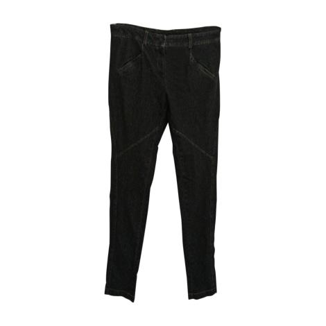 Jeans slim VANESSA BRUNO gris bleu