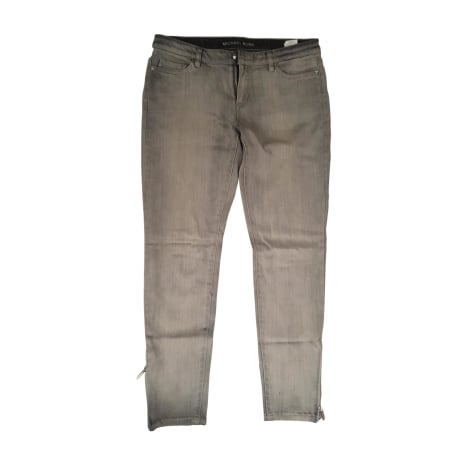 Jeans slim MICHAEL KORS Gris, anthracite