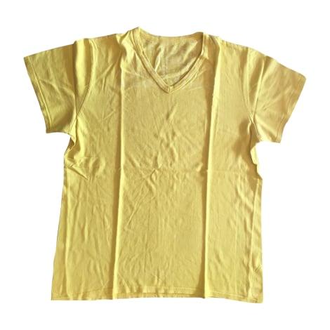 Tee-shirt MAISON MARTIN MARGIELA Jaune