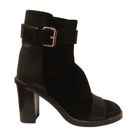 High Heel Ankle Boots ISABEL MARANT Black