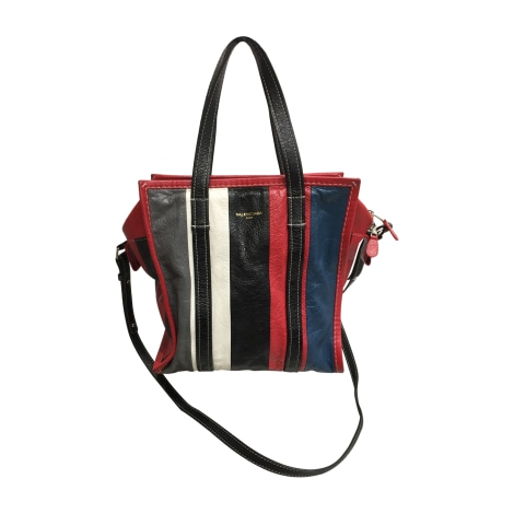 Leather Shoulder Bag BALENCIAGA Multicolor