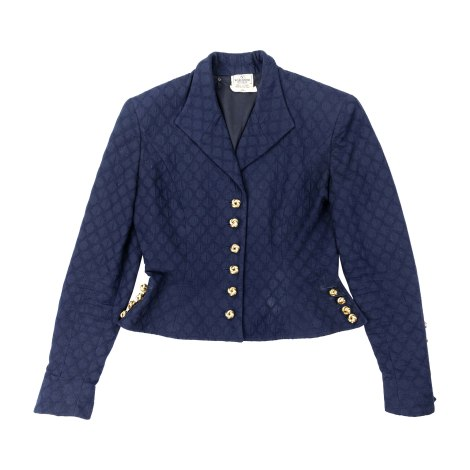 Blazer VALENTINO Blue, navy, turquoise