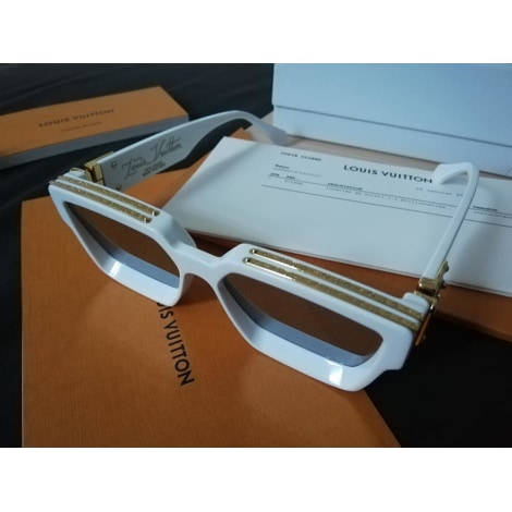 Sunglasses LOUIS VUITTON White, off-white, ecru