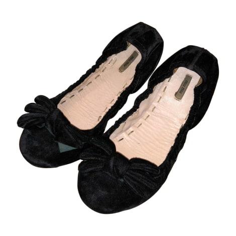 Ballet Flats MIU MIU Black