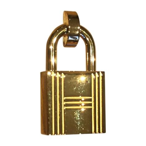 Skinny Belt HERMÈS Golden, bronze, copper