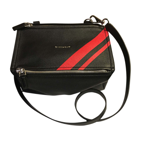 Leather Handbag GIVENCHY Pandora Black