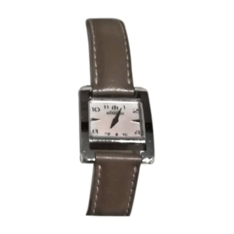 Montre au poignet MICHEL HERBELIN Marron