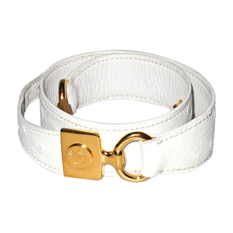 Skinny Belt HERMÈS White, off-white, ecru