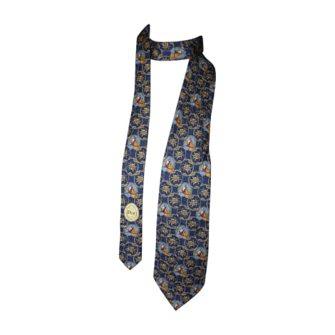 Tie DIOR HOMME Blue, navy, turquoise