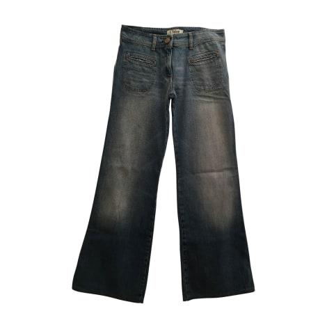 Jeans évasé, boot-cut CHLOÉ Bleu, bleu marine, bleu turquoise