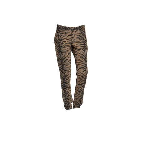 Pantalon droit HEIMSTONE Marron