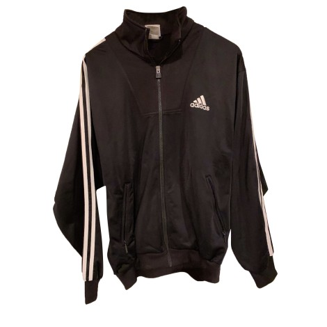 Tracksuit Top ADIDAS Black