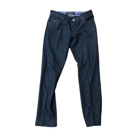Straight Leg Jeans JACOB COHEN Gray, charcoal