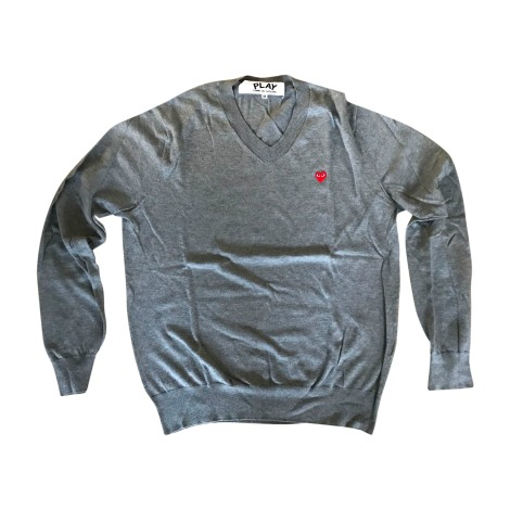 Sweater COMME DES GARÇONS PLAY Gray, charcoal