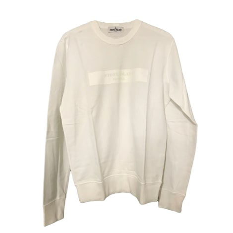 Sweater STONE ISLAND White, off-white, ecru