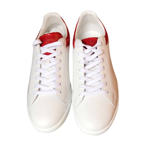Baskets LOUIS VUITTON Blanc, blanc cassé, écru