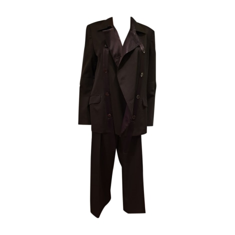 Tailleur pantalon YOHJI YAMAMOTO Autre noir - 8445879 b79286efe8c0