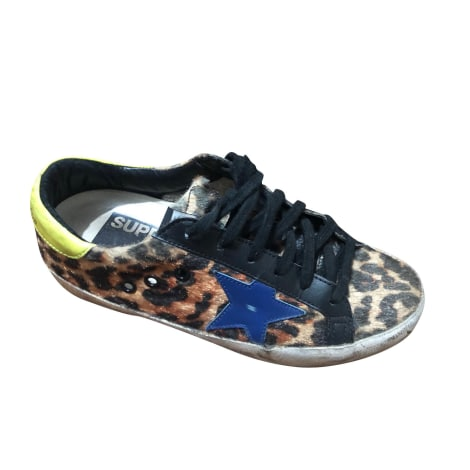 Baskets GOLDEN GOOSE Imprimés animaliers