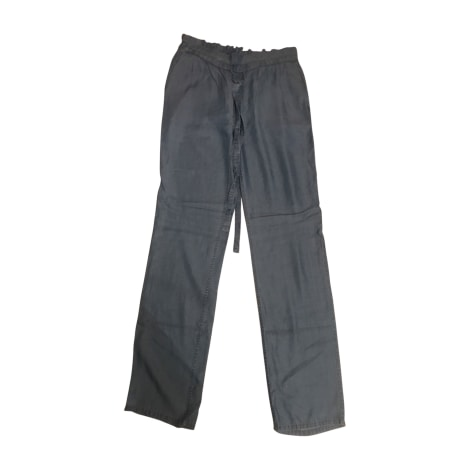 Pantalon large MICHAEL KORS Bleu, bleu marine, bleu turquoise