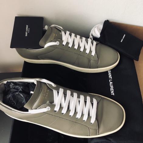 Sneakers SAINT LAURENT Gray, charcoal