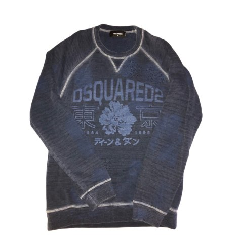 Sweater DSQUARED2 Blue, navy, turquoise