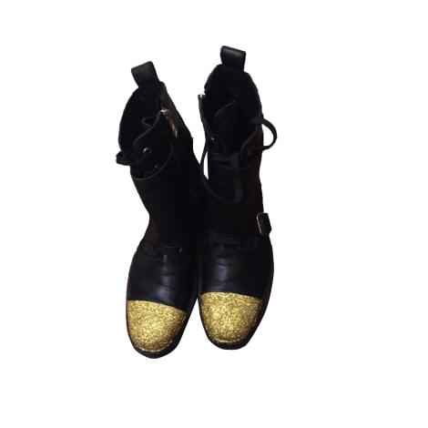 Biker Ankle Boots ZADIG & VOLTAIRE Black