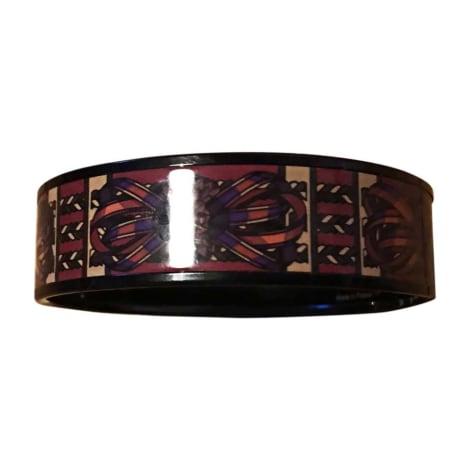 Bracelet HERMÈS Rouge, bordeaux
