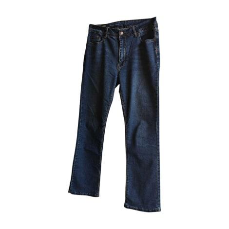 Jeans slim COMME DES GARÇONS PLAY Bleu, bleu marine, bleu turquoise