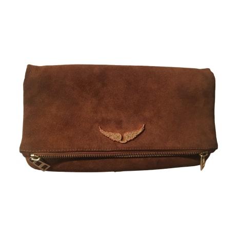 Non-Leather Handbag ZADIG & VOLTAIRE Beige, camel