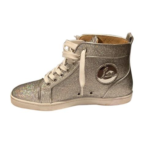 Sneakers CHRISTIAN LOUBOUTIN Silver