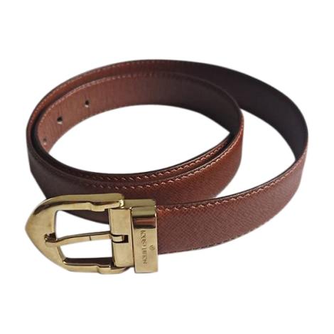 Skinny Belt LOUIS VUITTON Brown