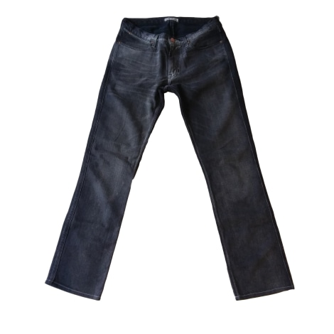Straight Leg Jeans ACNE Gray, charcoal